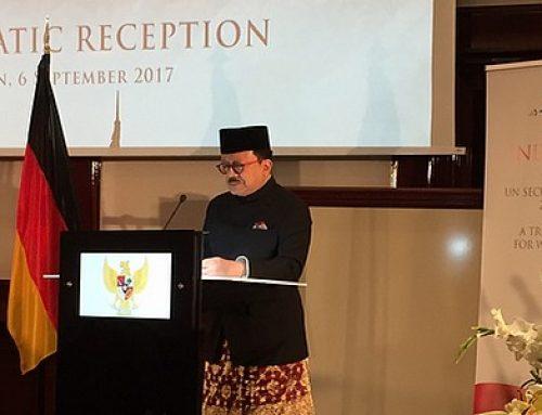 Empfang der indonesischen Botschaft